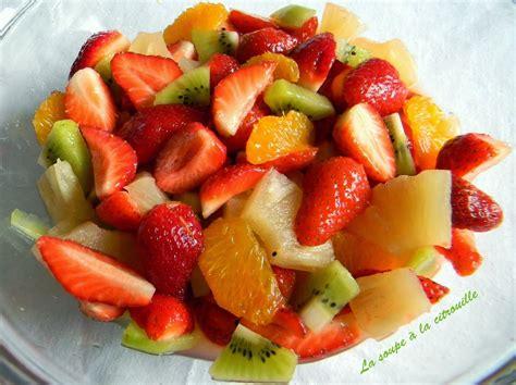 la soupe 224 la citrouille salade de fruits express