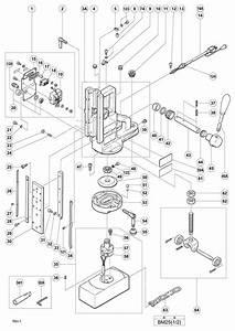 Dayton Drill Press Parts Breakdown