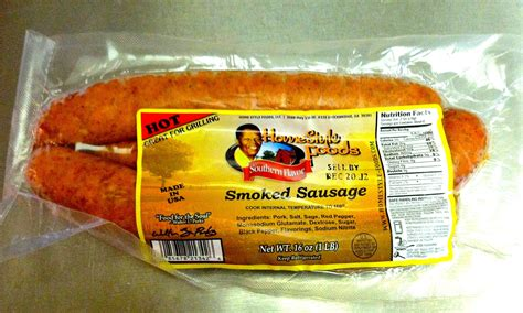 This Sausage Is The Best!  Jim's World And Welcome To It