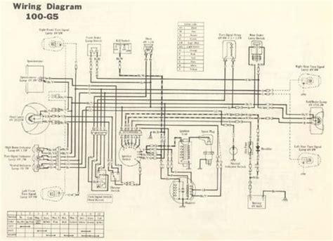 Kawasaki Ke100 Coil Wiring Diagram by Servicemanuals The Junk S Adventures
