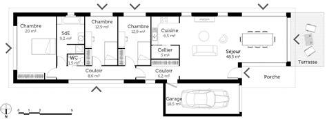 plan cuisine en longueur plan maison sur terrain en longueur ooreka
