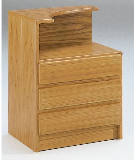Curved Nightstand by Classica Nightstand W Curved Top The Century House