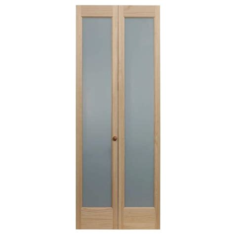 home depot glass interior doors pinecroft 30 in x 80 in frosted glass pine interior