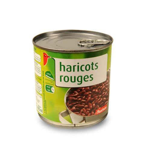 cuisiner des haricots rouges secs auchan haricots rouges 250g tous les produits conserves