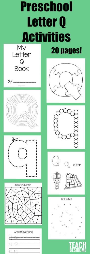 letter of the week preschool letter q activities teach 612 | preschool Letter Q Activities 366x1024
