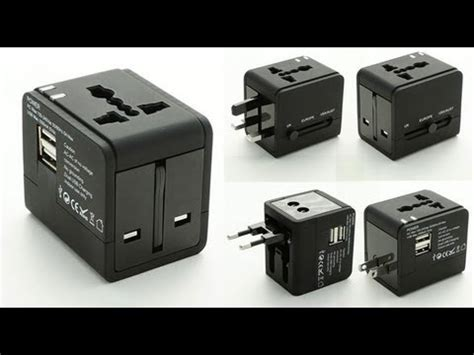 moredeal my universal travel charger adaptor with 2 usb