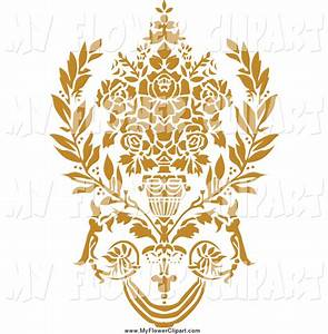 Gold Flowers Clipart (27+)