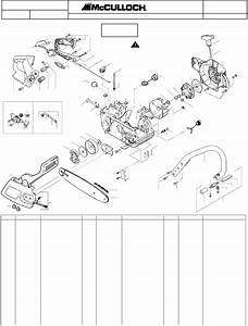 Mcculloch Chainsaw 335 User Guide