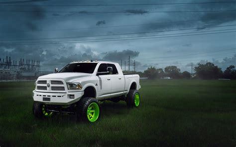 Cool Dodge Truck Wallpaper by Dodge Ram Car Truck Suv Tuning White Hd Wallpaper