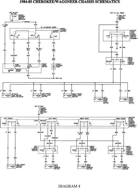 wiring diagram for 1986 jeep comanche get free image