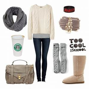 30 Cool Stylish Outfit Ideas for Winter 2017 - 2018 - Winter Outfits