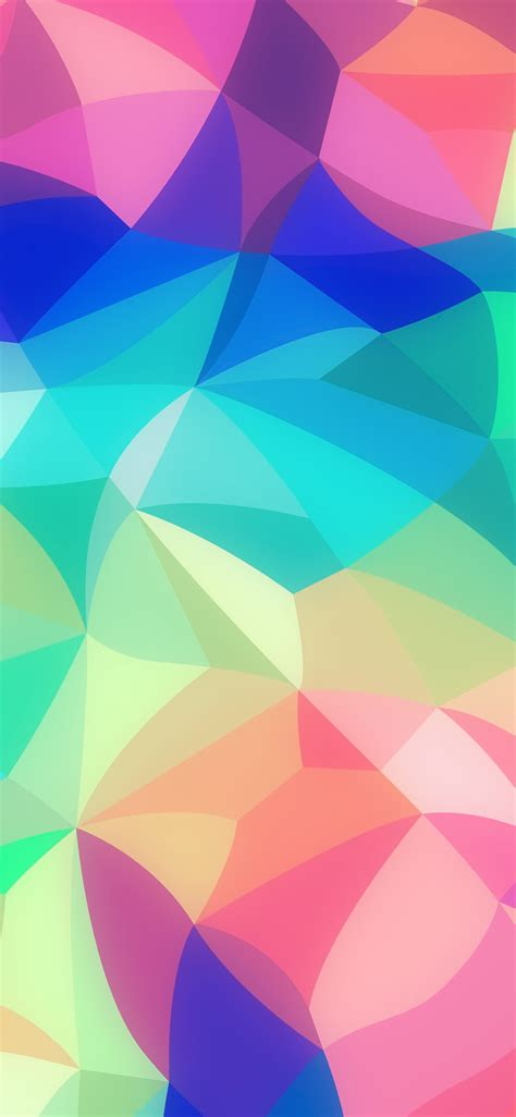 vk rainbow abstract colors pastel soft pattern wallpaper