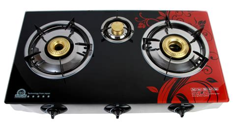 Surya Cooktop-3 Burner Gas Stove With 1 Year Warranty In
