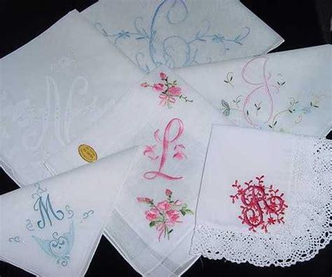 image gallery monogrammed handkerchiefs 204 best images about ladies handkerchiefs on pinterest