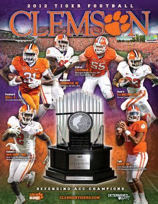 clemson football media guide  clemson tigers issuu