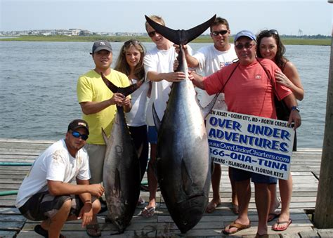 Charter Boat Fishing Nj by New Jersey Offshore Fishing Charters