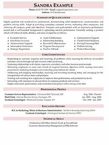 a good example of a customer service skills resume With customer service qualifications resume