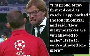 Who is the bett... Klopp Quotes