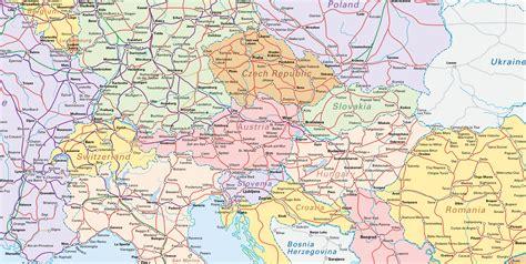 central europe interrail maps pinterest central