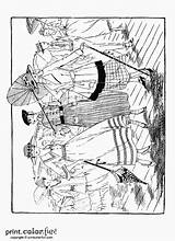 Coloring Pages Adults Adult Parasols Printable Sheets Books 1915 Printables Colouring Victorian Woman Fun Ladies Dover Boardwalk Yahoo Cool Dresses sketch template