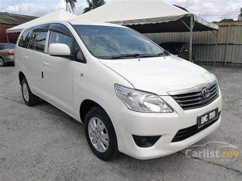 Toyota Innova 2013 E 2.0 In Selangor Automatic Mpv White