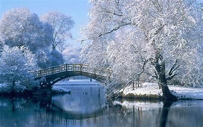 Winter 2k Bridge Wallpapers Backgrounds Screen 1080p