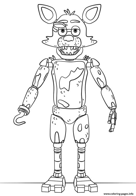 Fnaf Freddy Five Nights At Freddys Free To Print Coloring Pages ... | 682x474