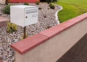 Pose De Couvertine : couvertine muret b ton agr gat heinrich bock ~ Dallasstarsshop.com Idées de Décoration