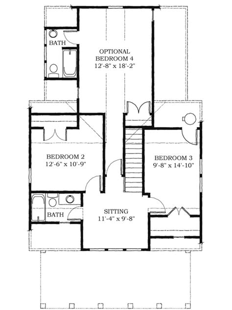 Southern Style Home Floor Plans by Southern Style Tiny House With Plans 1