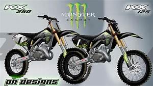 Images De Fond D U0026 39  U00e9cran De Voiture  Dirt 125 Monster Energy