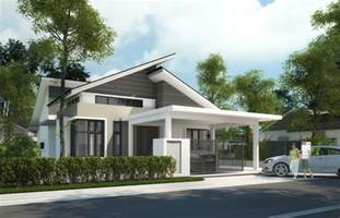 simple big one story homes placement single storey bungalow building plans 60201