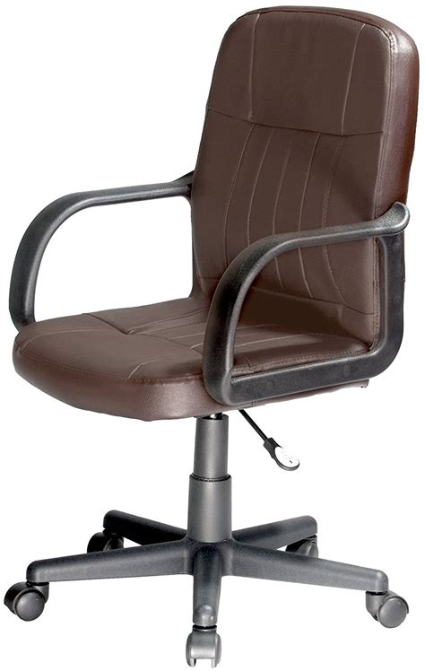 comfort products mid back leather office chair