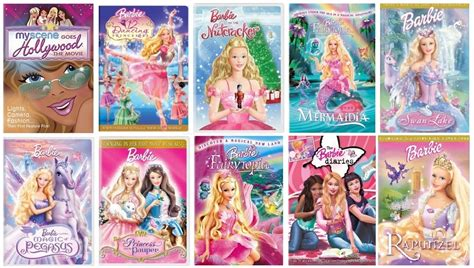 Barbie 12 Dancing Princesses Movie Scenes