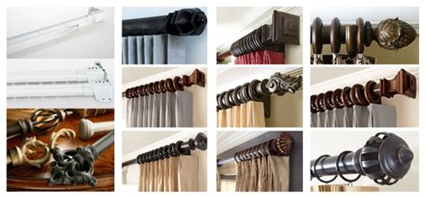 Extra Long Black Curtains by Custom Curtain Rods I Drapery Hardware I Finials