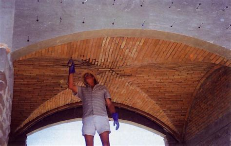 Brick Groin Vault Ceiling by Brick Groined Vault Roof Masonry Contractor Talk