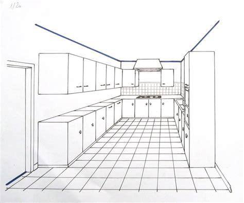 perspective cuisine dessin perspective et espacements les bases du dessin et de