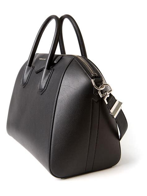 lyst givenchy medium antigona bag  black