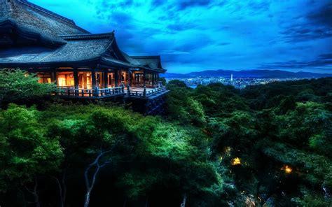 kyoto japan sunset wallpapers hd desktop  mobile
