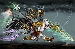 Image - Kratos and Weapons.jpg | God of War Wiki | FANDOM ...