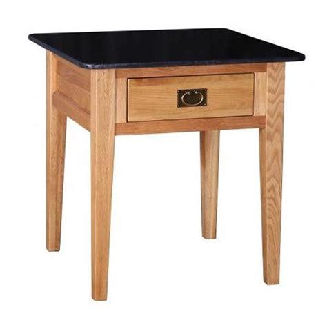 oak granite top kitchen island table
