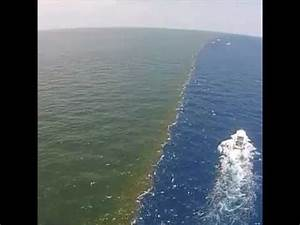 Baltic and North sea meeting point - YouTube