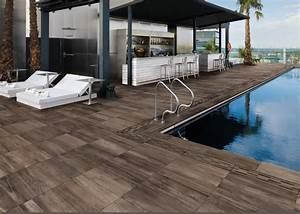 carrelage imitation bois pour terrasse piscine carrelage With carrelage pour terrasse piscine