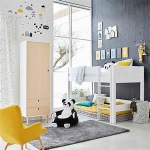 Chambre Enfant Blanc : maisons du monde 10 chambres b b enfant inspirantes id es d co ~ Teatrodelosmanantiales.com Idées de Décoration