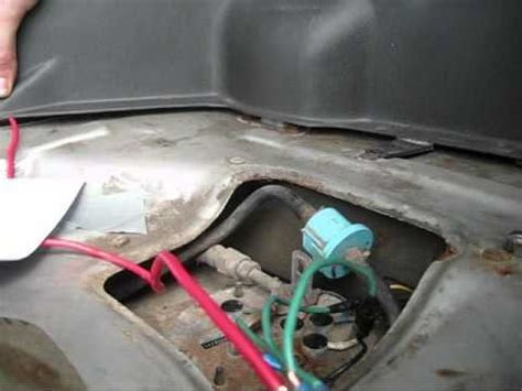 98 Cavalier Fuel Filter Removal by Fuel Wire Cntrlswitch How To