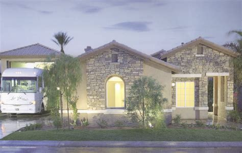 house plans with rv garage attached rhapsody rv homes at indian palms country club indio ca