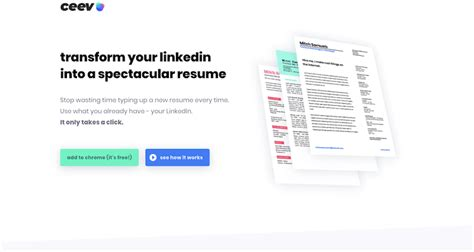 ceev linkedin resume builder