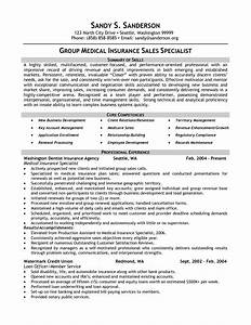 insurance specialist resume sample samplebusinessresume With insurance resume template