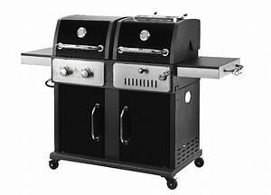 Gas Kohle Grill Kombination : neues design 2 in 1 gas und kombination holzkohle grill ~ Watch28wear.com Haus und Dekorationen
