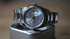 A Week On The Wrist: The Rolex Datejust - YouTube
