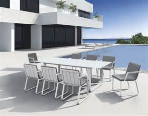 best white aluminum patio furniture and metal garden table